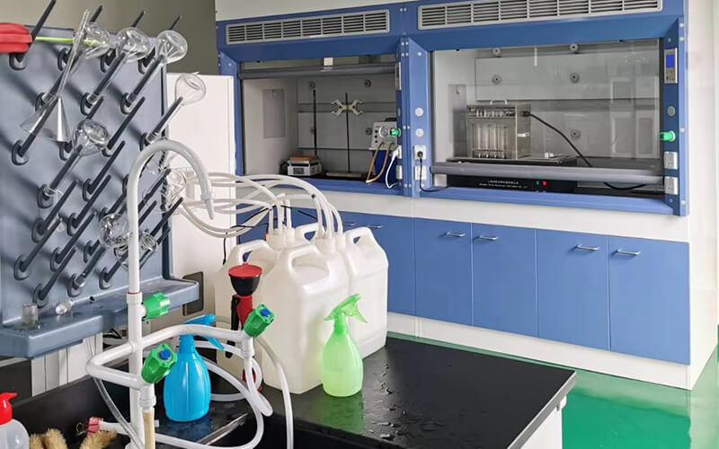 amino acid fertilizer factory lab 4